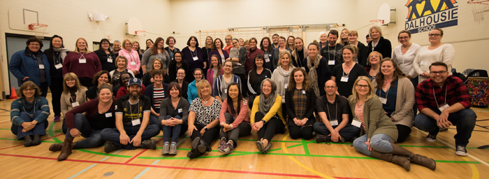 Calgary Orff Chapter Workshop participants